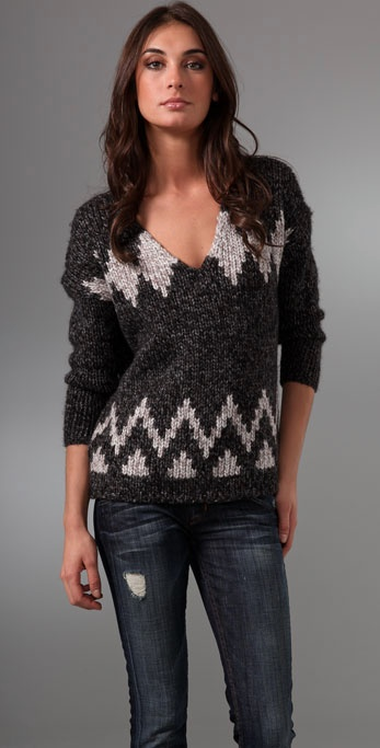 Madewell Log Cabin Pullover Sweater ($67, originally $95)