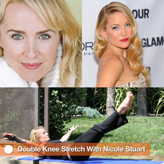 Double Knee Stretch From Celeb Trainer Nicole Stuart