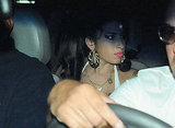 Pictures of Amy WInehouse Going Out in Sao Paulo