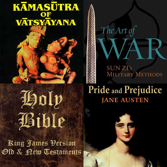 The Top 10 Free Ebooks: From Kama Sutra to the Bible