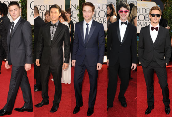 2011 Golden Globes: Best Dressed Men