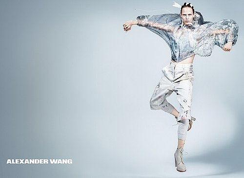 Photos of Alexander Wang, Versace, Nina Ricci Spring 2011 Ad Campaigns, Plus Shu Pei Qin for Maybelline