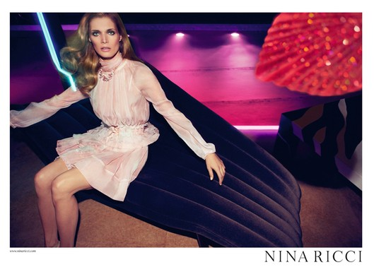 Malgosia Bela for Nina Ricci, by Inez van Lamsweerde and Vinoodh Matadin