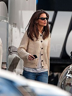 Pictures of Katie Holmes Filming Jack and Jill Before Sundance