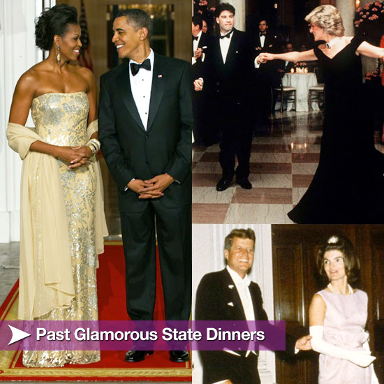 A Look Back at Past Glamorous State Dinners