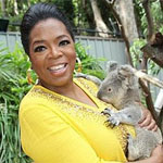 Oprah's Ultimate Australian Adventure Screens in Australia on Channel Ten Tonight