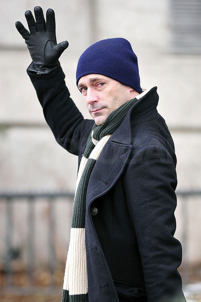 Jon Hamm Mixes His Personal and Professional Lives in the Big Apple