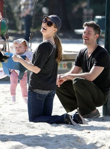 Pictures of Amy Adams and Darren Le Gallo With Baby Aviana