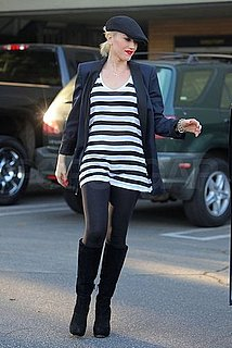 Pictures of Gwen Stefani at the Studio With No Doubt