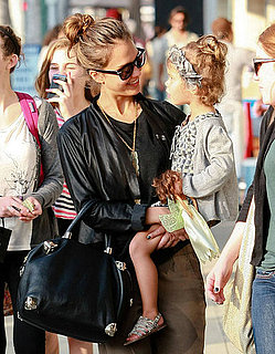 Pictures of Jessica Alba Getting Cupcakes With Daughter Honor Warren