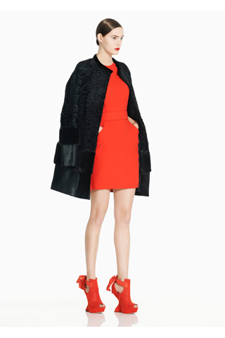 Sarah Burton Goes Military with a Splash of Neon For Alexander McQueen's Pre-Fall 2011 Collection