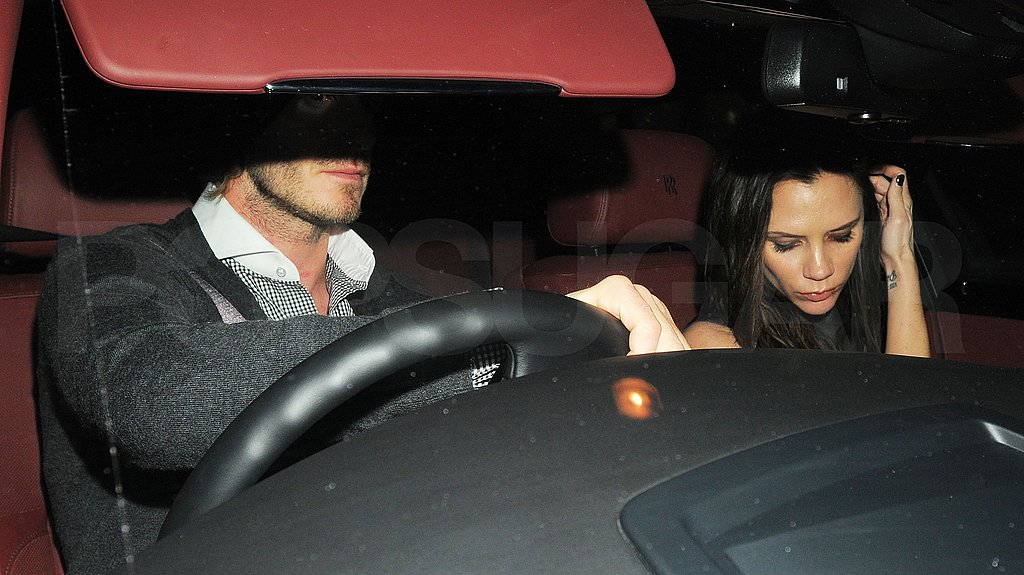 David and Pregnant Victoria Hit Nobu For a Date Night!