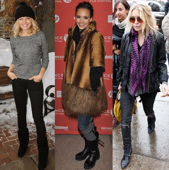 The Sundance Film Festival kicked off — check out some cozy-cute looks from the past.