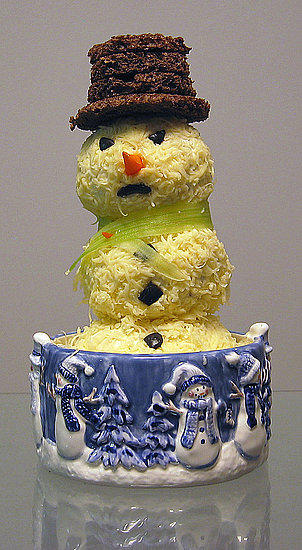 Cheese Snowman
