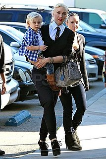Pictures of Gwen Stefani, Gavin Rossdale With Zuma and Kingston in LA