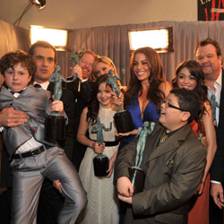 Modern Family Press Room Quotes From 2011 SAG Awards 2011-01-30 19:09:38