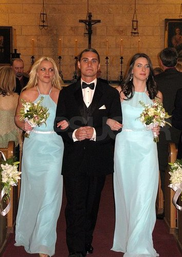 Pictures of Britney Spears as a Bridesmaid in Miami