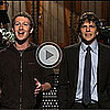 Video of Mark Zuckerberg on Saturday Night Live with Jesse Eisenberg 2011-01-30 13:19:39