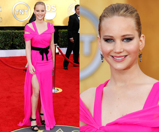Jennifer Lawrence at SAG Awards 2011
