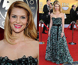 Claire Danes Wears Louis Vuitton Floral Gown to SAG Awards 2011