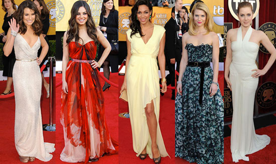 2011 Screen Actors Guild Awards Best Dressed