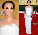 Natalie Portman in Azzaro at SAG Awards 2011