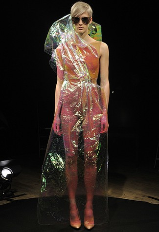 Maison Martin Margiela Creates a Floral Explosion for Spring 2011 Couture