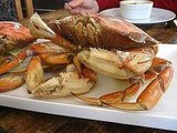 Boiling a crab . . .