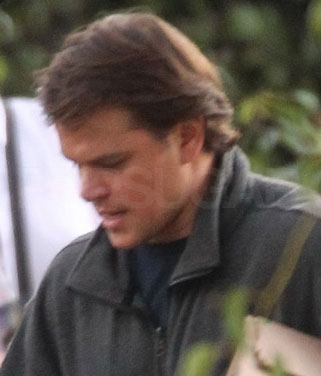 Matt Damon Holds His Own on the Set of We Bought a Zoo
