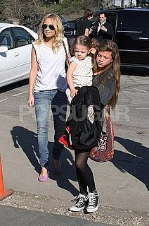 Pictures of Nicole Richie With Harlow Madden