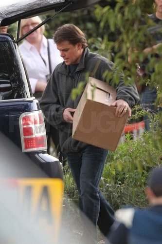 Pictures of Matt Damon on the Set of We Bought a Zoo 2011-01-24 06:27:52