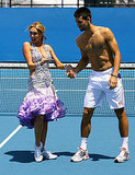 Kym Johnson and Novak Djokovic