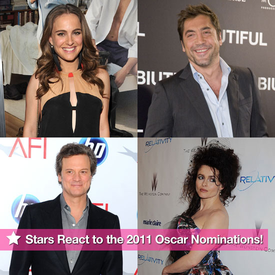 Stars React to the 2011 Oscar Nominations!