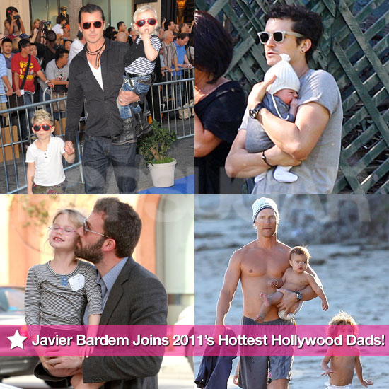 Javier Bardem Joins 2011's Hottest Hollywood Dads!