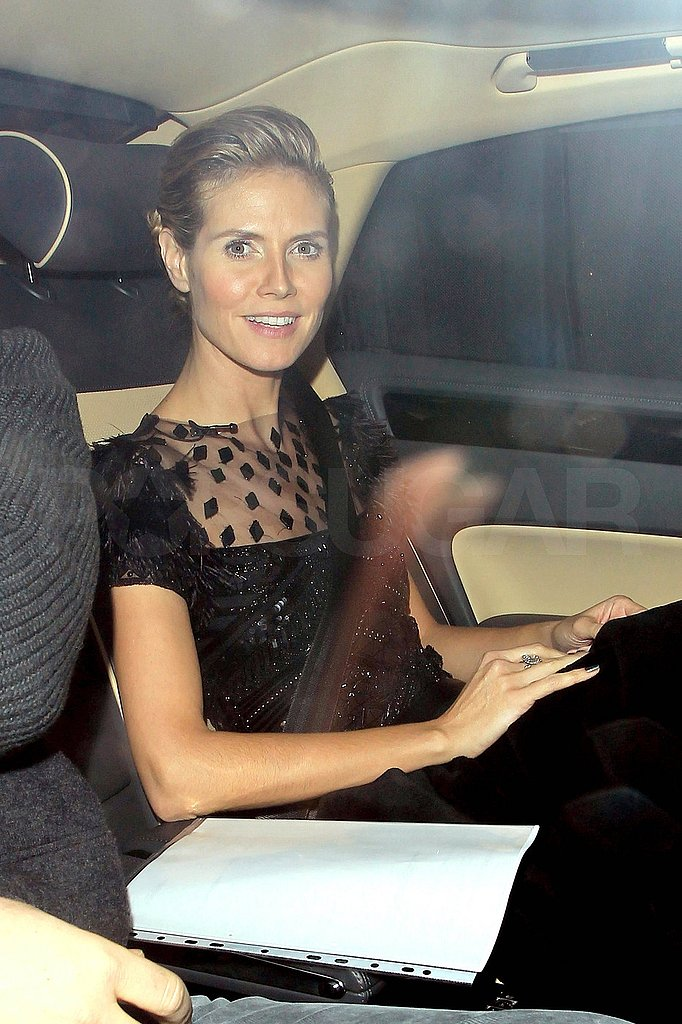 Heidi Klum Chats Perfume and Announces a New Partnership With AOL!