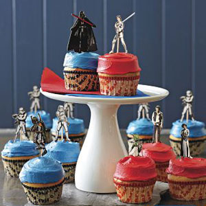 Photos of the Star Wars Cupcake Decoration Kit