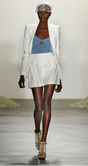 White short suits feel fresh — make a new one for Spring 2012?