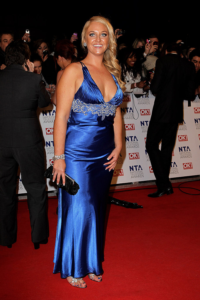 Pictures of Women on National Television Awards Red Carpet