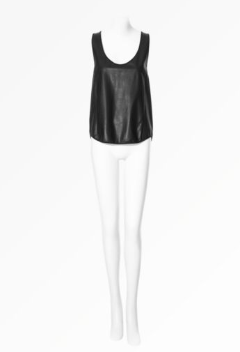 Tefi Leather Tank ($735)