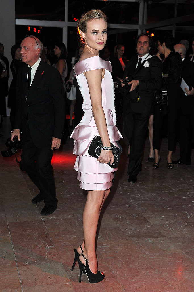 Pictures of Diane Kruger at the 2011 Sidaction AIDS Benefit 2011-01-27 14:31:04