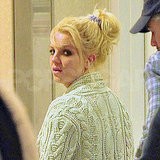 Britney Spears Leaves the Studio to Take a Trip With Jason Trawick