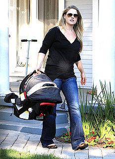 First Pictures of Ali Larter With Son Theodore Hayes MacArthur in LA