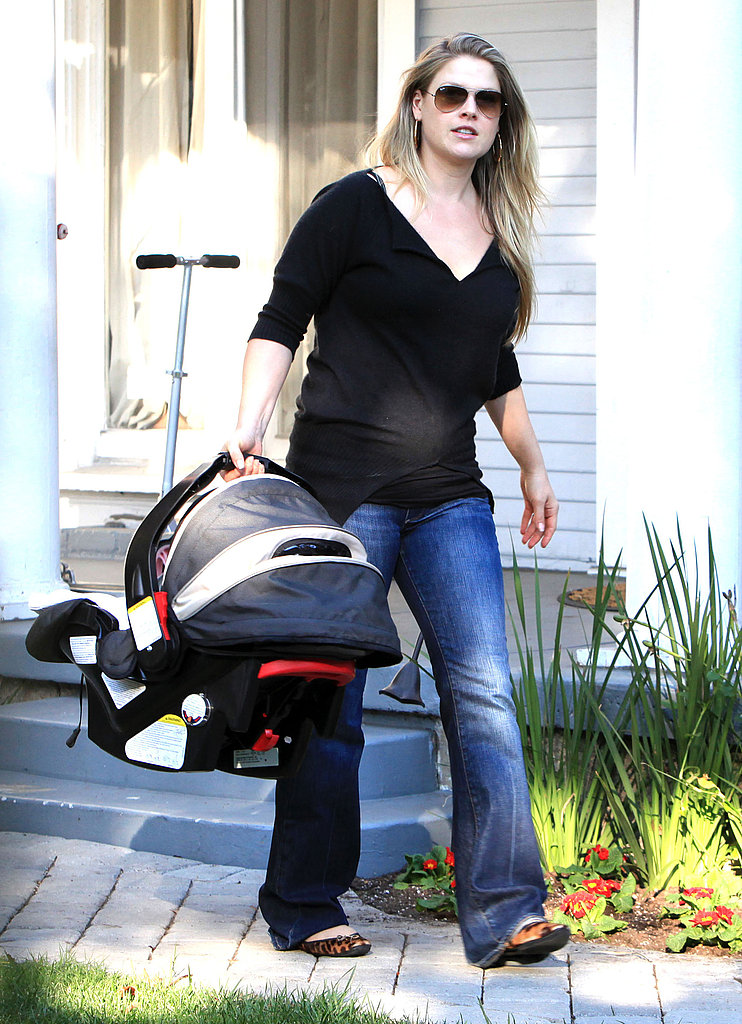 Ali Larter Steps Out With Her Baby Son Theodore Hayes MacArthur!
