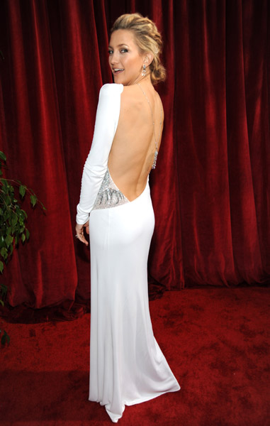 Kate Hudson went totally sexy — and backless — in Pucci in 2010.