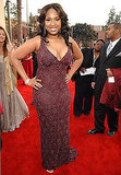 Jennifer Hudson opted for a sultry, curve-hugging embellished gown in '07.
