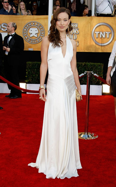 Olivia Wilde channelled Old Hollywood glam for the awards in '09.