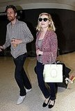 Kirsten Dunst Returns From Her Couture Adventures to Her Boyfriend