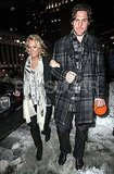 Maybe-Pregnant Carrie Underwood and Mike Fisher Share a Snowy Date Night