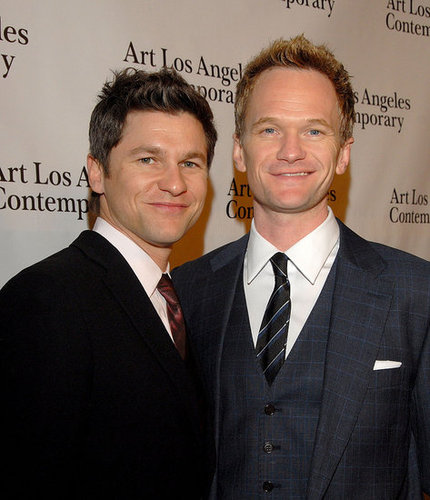 Pictures of Neil Patrick Harris and David Burtka at Art Los Angeles Contemporary 2011 Opening Night