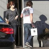 Pictures of Mandy Moore Getting Lunch With Husband Ryan Adams
